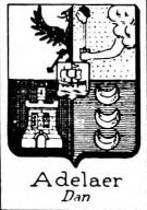 Adelaer Coat of Arms / Family Crest 1