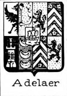 Adelaer Coat of Arms / Family Crest 3