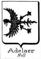 Adelaer Coat of Arms / Family Crest 0