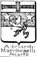 Adelardi Coat of Arms / Family Crest 1