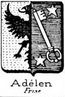 Adelen Coat of Arms / Family Crest 0