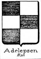 Adelepsen Coat of Arms / Family Crest 0
