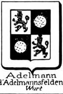 Adelmann Coat of Arms / Family Crest 1