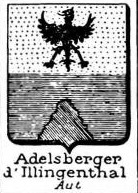Adelsberger Coat of Arms / Family Crest 1