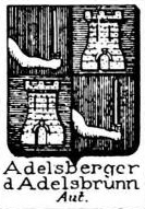 Adelsberger Coat of Arms / Family Crest 0