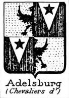 Adelsburg Coat of Arms / Family Crest 0