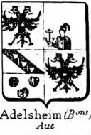 Adelsheim Coat of Arms / Family Crest 2