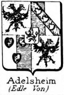 Adelsheim Coat of Arms / Family Crest 3