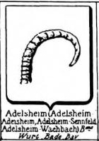 Adelsheim Coat of Arms / Family Crest 1