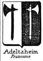 Adeltzheim Coat of Arms / Family Crest 0