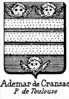 Ademar Coat of Arms / Family Crest 0