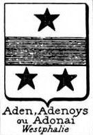 Aden Coat of Arms / Family Crest 0