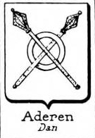 Aderen Coat of Arms / Family Crest 0