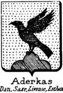 Aderkas Coat of Arms / Family Crest 1