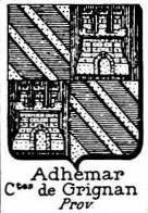 Adhemar Coat of Arms / Family Crest 1