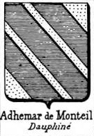 Adhemar Coat of Arms / Family Crest 2