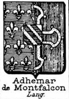 Adhemar Coat of Arms / Family Crest 3