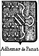 Adhemar Coat of Arms / Family Crest 4