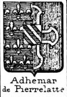 Adhemar Coat of Arms / Family Crest 5