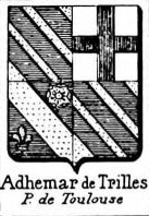 Adhemar Coat of Arms / Family Crest 6