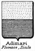 Adimari Coat of Arms / Family Crest 0