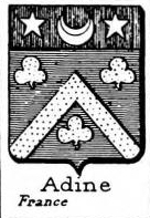 Adine Coat of Arms / Family Crest 0