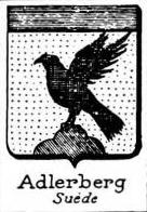 Adlerberg Coat of Arms / Family Crest 1
