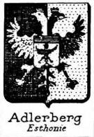 Adlerberg Coat of Arms / Family Crest 2