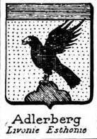 Adlerberg Coat of Arms / Family Crest 0