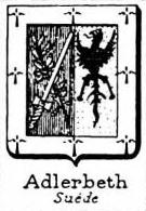 Adlerbeth Coat of Arms / Family Crest 0