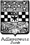 Adlercreutz Coat of Arms / Family Crest 1