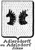 Adlersdorff Coat of Arms / Family Crest 0
