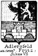 Adlersfeld Coat of Arms / Family Crest 1