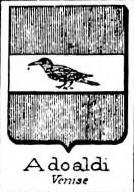 Adoaldi Coat of Arms / Family Crest 0