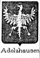 Adolzhausen Coat of Arms / Family Crest 0