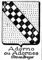 Adorno Coat of Arms / Family Crest 2