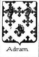 Adram Coat of Arms / Family Crest 0