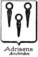 Adriaens Coat of Arms / Family Crest 0