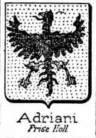 Adriani Coat of Arms / Family Crest 2