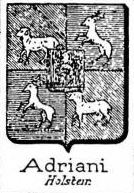 Adriani Coat of Arms / Family Crest 3