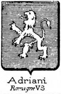 Adriani Coat of Arms / Family Crest 4