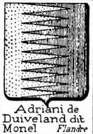 Adriani Coat of Arms / Family Crest 6
