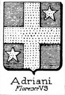 Adriani Coat of Arms / Family Crest 1