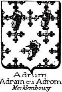 Adrum Coat of Arms / Family Crest 1
