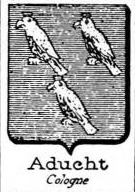 Aducht Coat of Arms / Family Crest 0