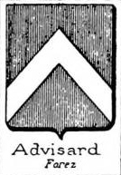 Advisard Coat of Arms / Family Crest 0