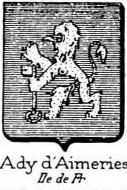 Ady Coat of Arms / Family Crest 3