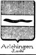 Aelchingen Coat of Arms / Family Crest 0