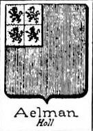 Aelman Coat of Arms / Family Crest 0