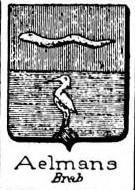 Aelmans Coat of Arms / Family Crest 0